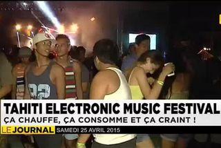 Tahiti Electronic Music Festival : pas d'alcool dedans, mais dehors…
