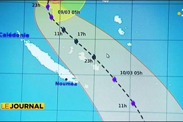 Le cyclone Hola menace les îles Loyauté