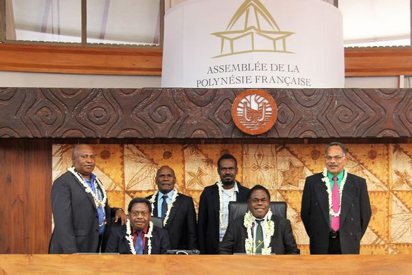 Une délégation du Vanuatu en visite
