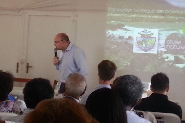 Jean-Michel Knop, le directeur des affaires culturelles de la Guadeloupe.