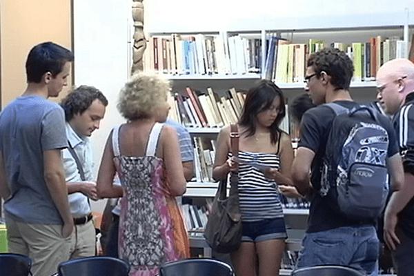 Les étudiants calédoniens à Paris