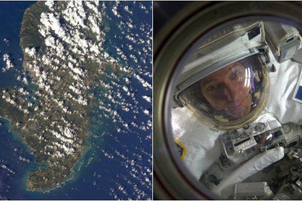 La Martinique vue du ciel par Thomas Pesquet