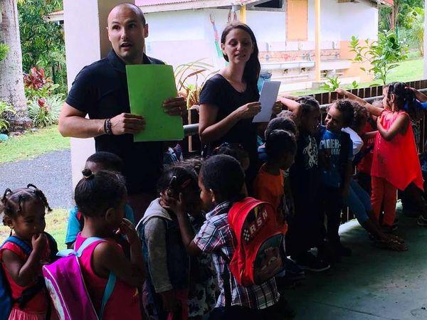 Rentrée à l'école de Netchaot, Koné, février 2019