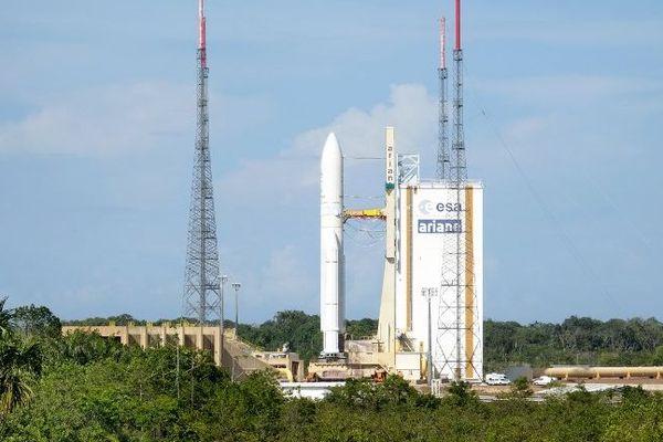 Mission réussie pour la dernière Ariane 5 de l'année