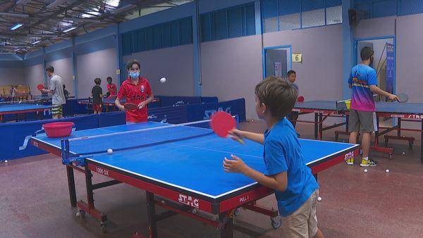Stage de ping pong enfant