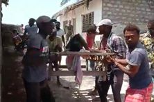 Les rescapés du voyage en kwassa ont été hospitalisés à Malindi au Kenya.