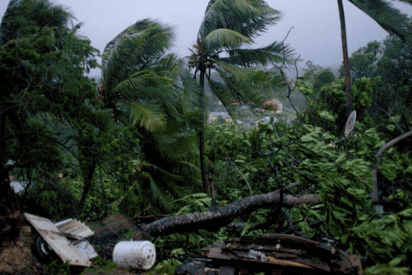 cyclone keny au fidji