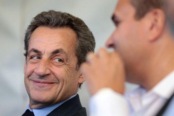 Nicolas Sarkozy et Didier Robert