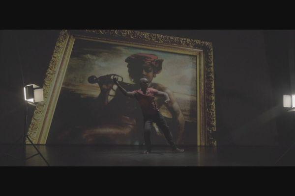 Le Jeune Noir à l'épée