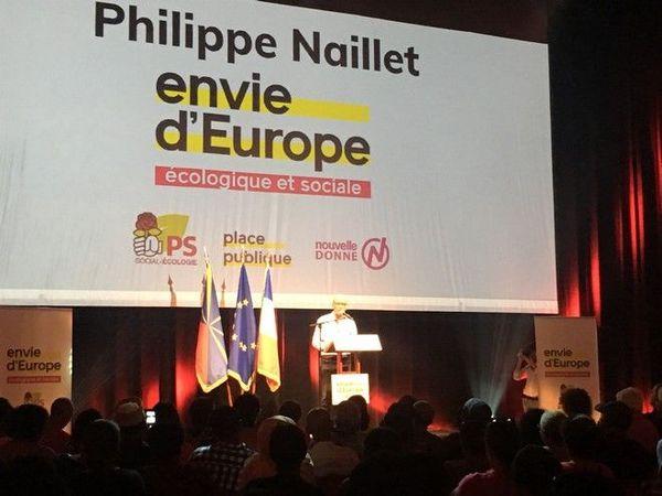 européennes meeting liste PS Place Publique raphaël Glucksmann 270419