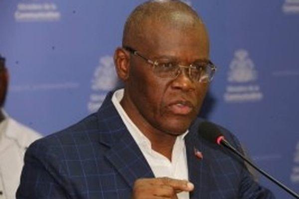 Premier ministre haïtien Joseph Jouthe