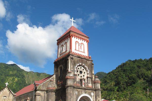 Soufrière , église