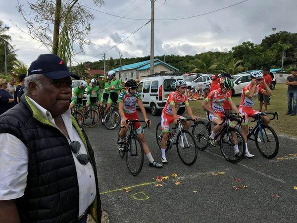 Cyclisme tour NC