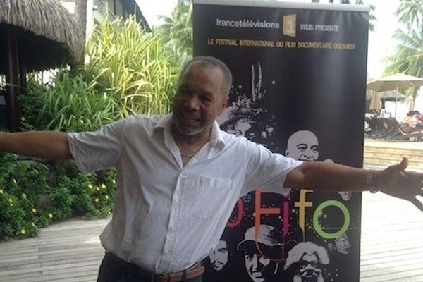 Le comédien Greg Germain, Président du jury du 10 ème FIFO