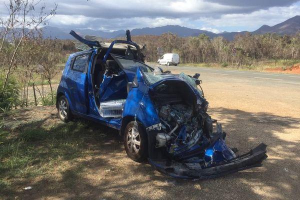 Accident de la route entre Tamoa et Tontouta, 12 janvier 2018