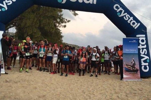 Départ Trail de Rodrigues 2019