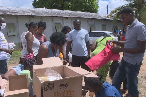 Des familles sinistrées dans l'attente d'un logement