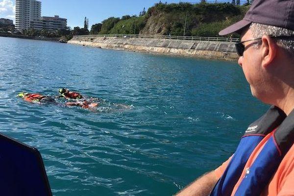 SNSM : exercice de sauvetage en mer