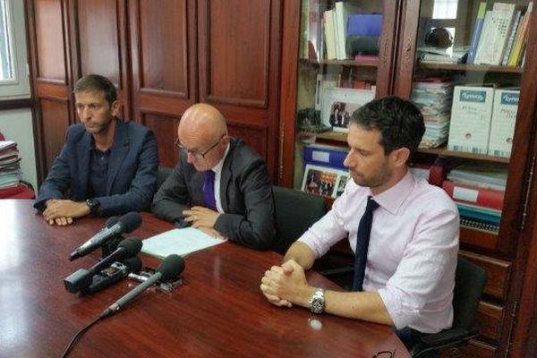 Conférence de presse Procureur de la République