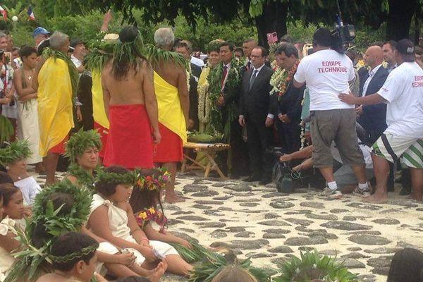 Hollande marae Taputapuatea