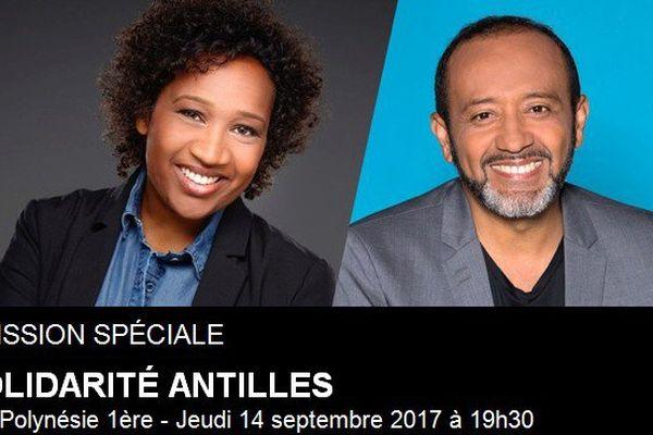 Emission spéciale Solidarité Antilles