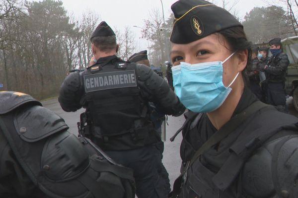 Marina, marquisienne et major de promotion dans la gendarmerie