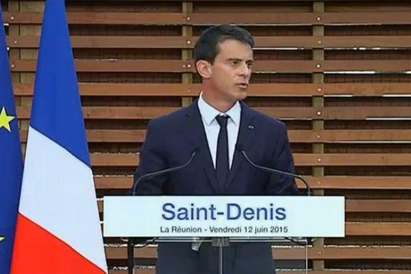 Manuel Valls au Gymnase Patrick Cazal