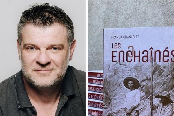 """Franck Chanloup, auteur du roman """"Les enchaînés"""" paru aux éditions Au vent des îles, invité de l'Oreille est hardie."""