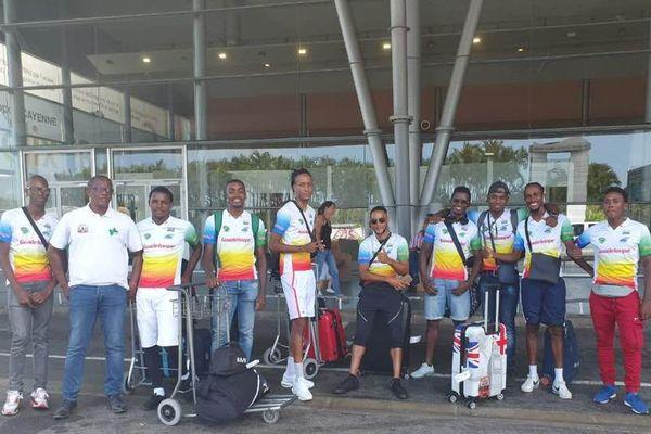 sélection Guadeloupe en Guyane pour le championnat de France Outre mer