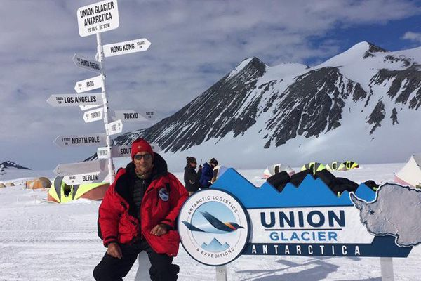 1 ere épreuve en Antartique