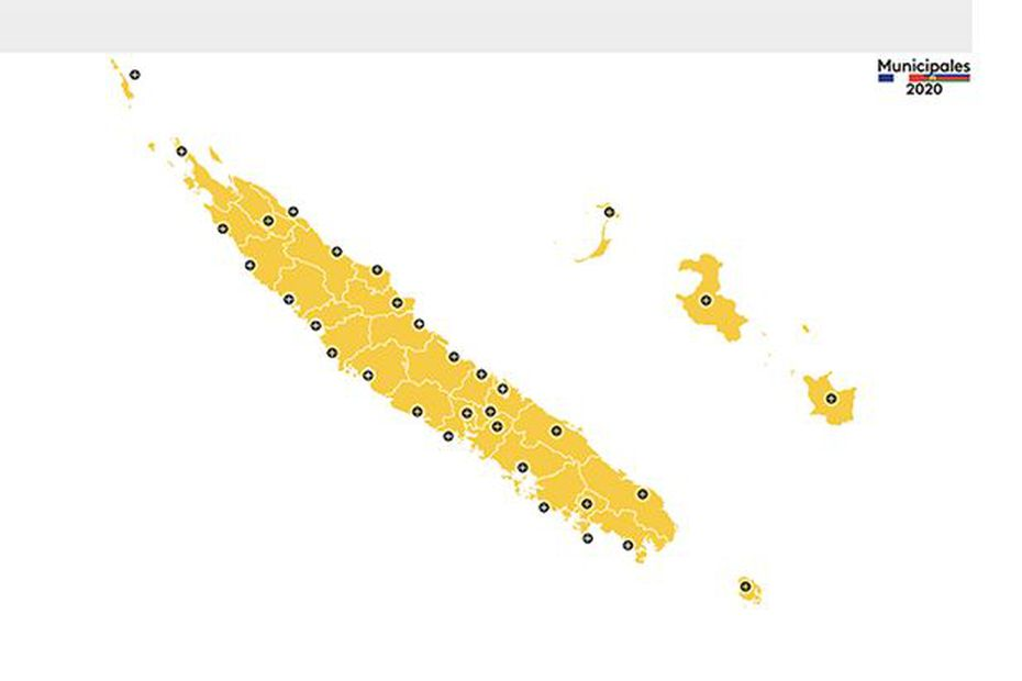 La carte interactive de Nouvelle-Calédonie la 1ère - Nouvelle-Calédonie la 1ère
