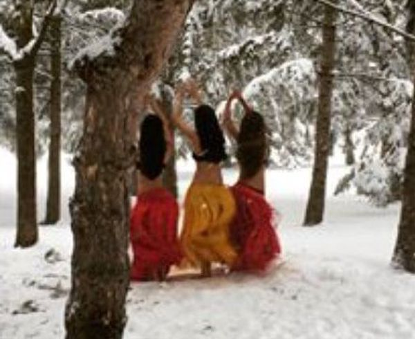Les vahine Tahiti, reines des neiges à Montréal
