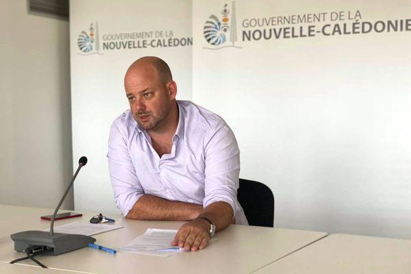 Christopher Gygès, porte-parole du gouvernement.