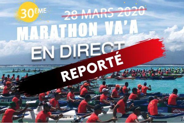 Le 30e Marathon Va'a est reporté