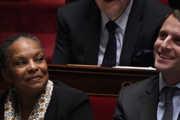 Taubira et Macron