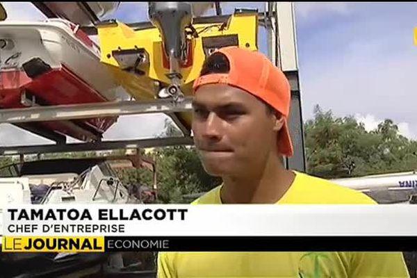 Tamatoa Ellacott et l'esprit d'entreprise