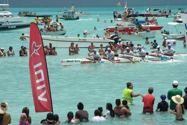 Hawaiki nui va'a : l'arrivée à Bora Bora