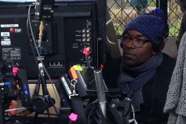 """Lucien Jean-Baptiste sur le tournage d' """"Il a déjà tes yeux"""""""
