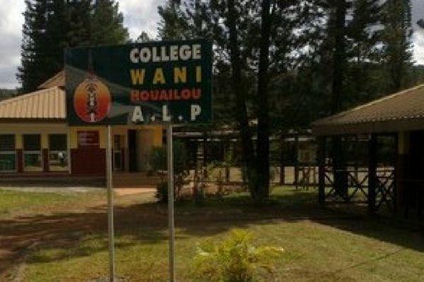 Houailou : collège de Wani