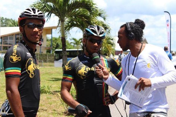José Chong Wa  du Vélo Club Maroni