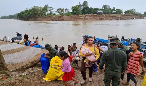 Le Nicaragua evacuations