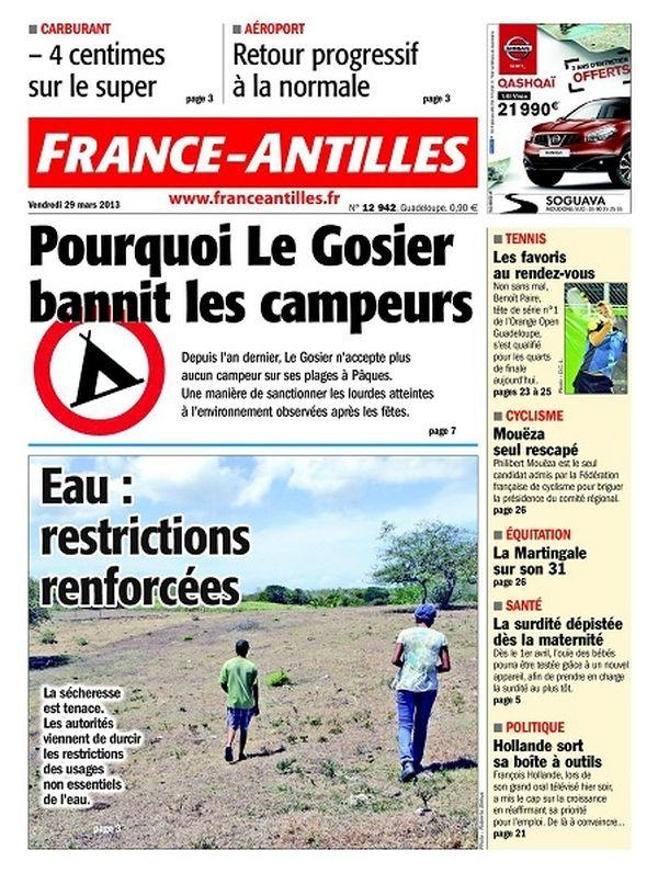 France-Antilles Guadeloupe du 29 mars 2013