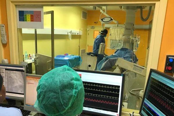 Coronarographie au CHU de P-à-P/Abymes