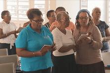 Des croyantes commencent la période de jeûne en Martinique