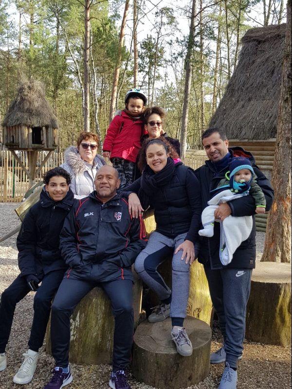 Patchouli profite de sa famille, lui qui est père de deux filles et grand-père de deux petits garçons