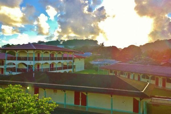 Le lycée Félix Eboué