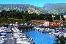 Le port de plaisance de Sainte-Marie sous les soleil, mercredi 9 juin 2021