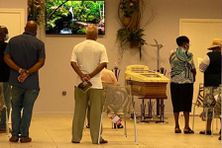 Une veillée mortuaire en Martinique