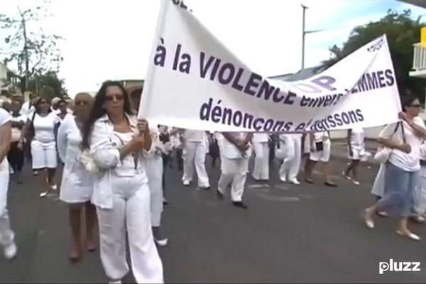 Violences conjugales (banderole)