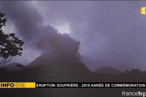 Volcan Soufrière 1976